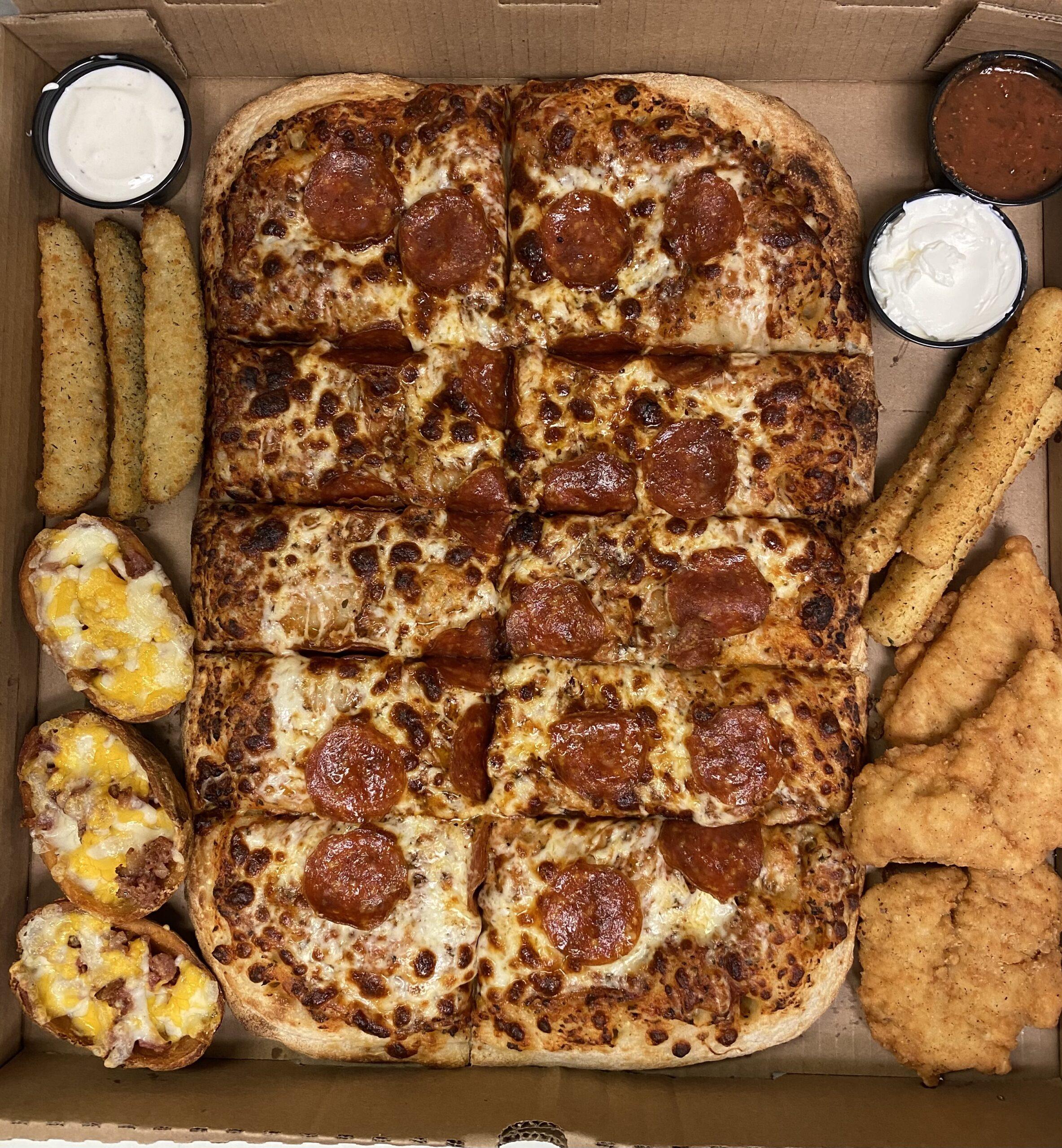 PIzza Tackle Box